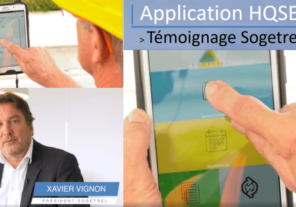 Application mobile HQSE – Témoignage Sogetrel